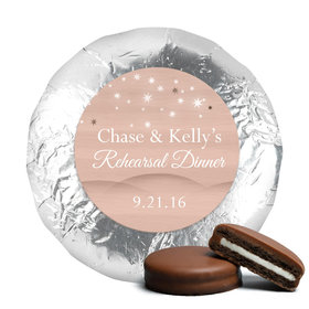 Rehearsal Dinner Chocolate Covered Oreos Starry Sky (24 Pack)