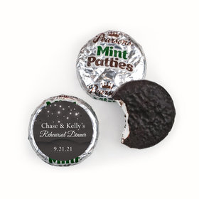 Rehearsal Dinner Personalized Pearson's Mint Patties Starry Sky