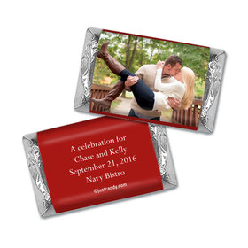 Rehearsal Dinner Personalized Hershey's Miniatures Wrappers Full Photo
