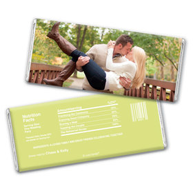 Rehearsal Dinner Personalized Chocolate Bar Wrappers Full Photo