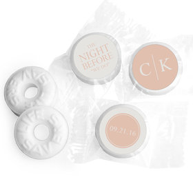Rehearsal Dinner Personalized Life Savers Mints Monograms