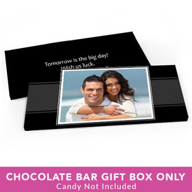 Deluxe Personalized Rehearsal Dinner Photo Candy Bar Favor Box