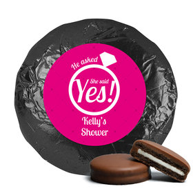 Bridal Shower Favor Chocolate Covered Oreos She Said Yes! Ring