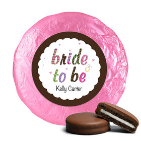 Personalized Bridal Shower Favors Milk Chocolate Covered Oreo Cookies (24 Pack)