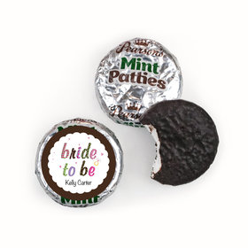 Personalized Bridal Shower Favors Pearson™s Mint Patties