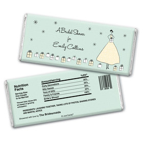 Bridal Shower Favor Personalized Chocolate Bar Wrappers Many Gifts