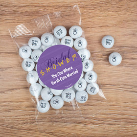 Personalized Bridal Shower The One Where Candy Bag with JC Chocolate Minis