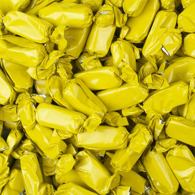 Yellow Foil Wrapped Caramels