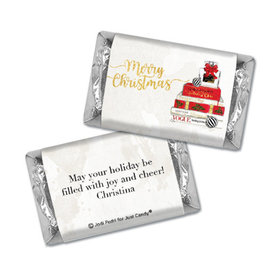 Personalized Christmas Holiday Chic Hershey's Miniatures