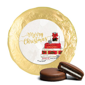 Personalized Christmas Holiday Chic Chocolate Covered Oreos
