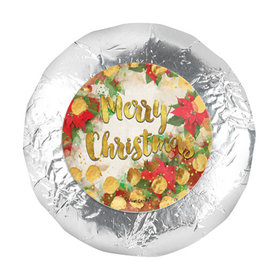 "Personalized Christmas Holly 1.25"" Stickers (48 Stickers)"