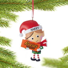 Hershey Candy Elf (Reese's) Ornament