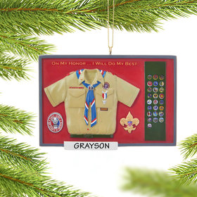Eagle Scout Shadow Box Ornament