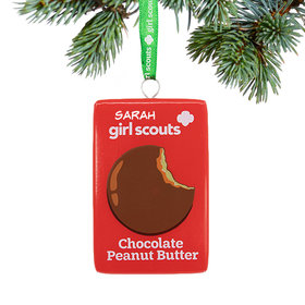 Girl Scouts of USA Chocolate Peanut Butter Ornament