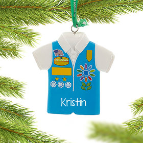Girl Scouts of USA Daises Vest Ornament