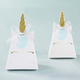 Unicorn Favor Box (Set of 12) - Kate Aspen