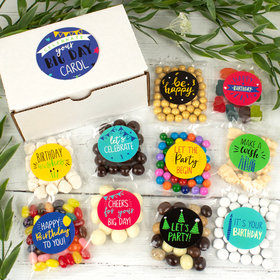Personalized Birthday Care Package Candy Gift Box - Celebrate You