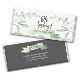 Baby Shower Personalized Chocolate Bar Oh Baby!