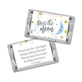 Baby Shower Personalized Hershey's Miniatures Over the Moon