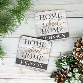 Personalized Cork Coaster- Home Sweet Home