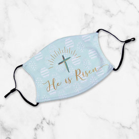 Adult Face Mask - He is Risen