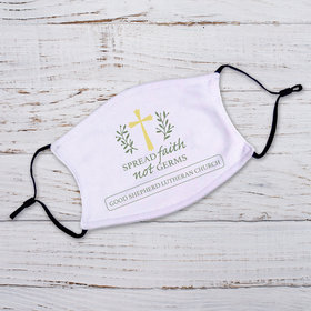 Personalized Adult Face Mask - Spread Faith not Germs