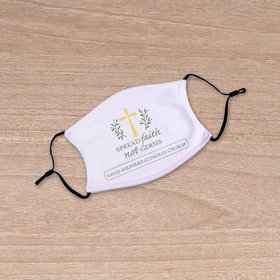 Personalized Youth Face Mask - Spread Faith not Germs