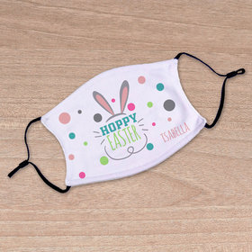 Personalized Adult Face Mask - Hoppy Easter