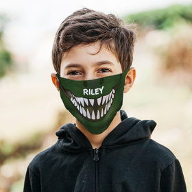 Personalized Face Mask - Dino Mask
