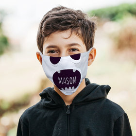 Personalized Face Mask - Halloween Faces Ghost