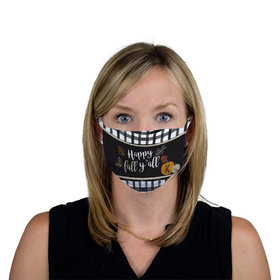 Personalized Face Mask - Happy Fall Yall