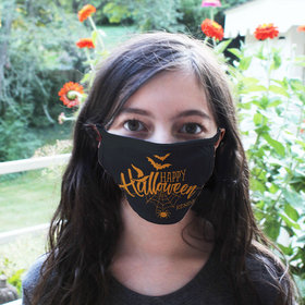 Personalized Face Mask - Happy Halloween