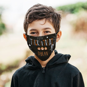 Personalized Face Mask - Trick or Treat