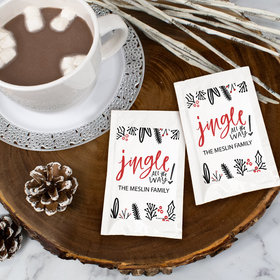 Personalized Christmas Hot Cocoa - Jingle All The Way