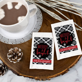 Personalized Christmas Hot Cocoa - Merry and Bright