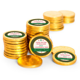 Personalized Christmas Ugly Sweater Chocolate Coins (84 Pack)