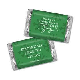Personalized Christmas Comfort and Joy Hershey's Miniatures