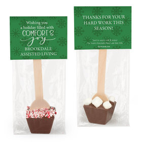 Personalized Christmas Comfort and Joy Hot Chocolate Spoon