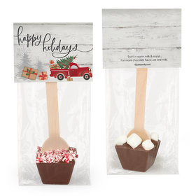 Rustic Red Truck Hot Chocolate Spoon