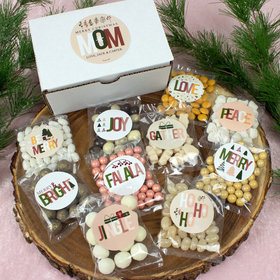 Personalized Christmas Care Package Candy Gift Box - Mom's Christmas