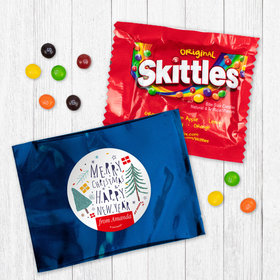 Personalized Nordic Christmas Skittles