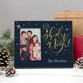 Personalized Christmas Holy Night Picture Frame