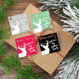 Personalized Peace Love Joy Gift Tags (24 Pack)