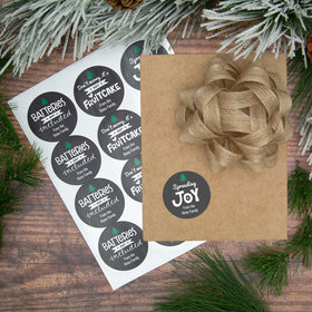 Personalized Funny Gift Labels (72 Pack)
