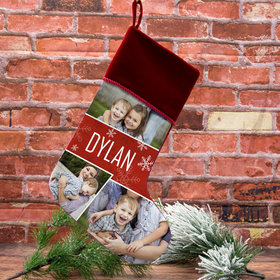 Personalized Stocking Photo Collage