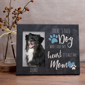 Personalized This Dog Stole my Heart Picture Frame