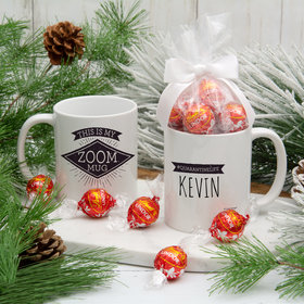 Personalized This is My Zoom Mug 11oz Mug with Lindt Truffles