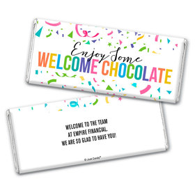 Personalized Work Welcome Chocolate Bar & Wrapper