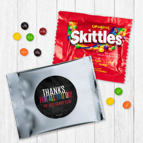 Personalized Business Colorful Thanks Skittles