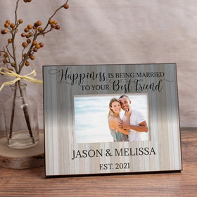 Personalized Married to Your Best Friend Picture Frame